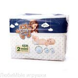 Little Times moments Подгузники 2 mini 3-6кг., 27шт.